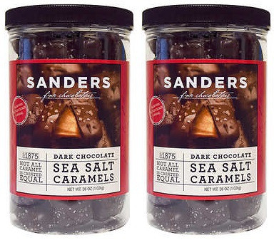 Sanders Dark Chocolate Sea Salt Caramels
