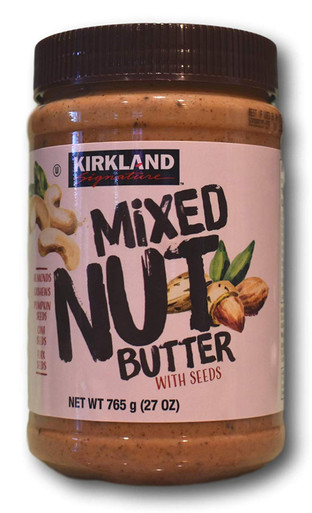 Kirkland Mixed Nut Butter with Seeds, 27 oz.