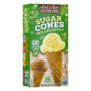 Let's Do Gluten Free Sugar Cones Ice Cream Cones, 4.6 oz.
