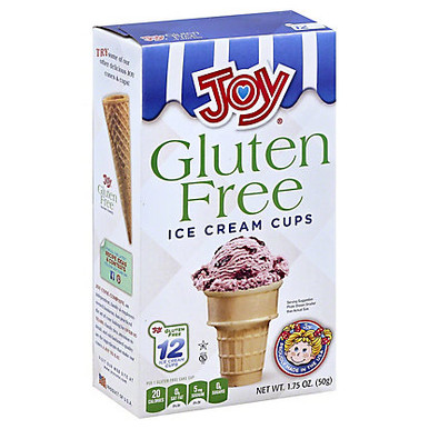 Joy Gluten Free Ice Cream Cups, 1.75 oz.