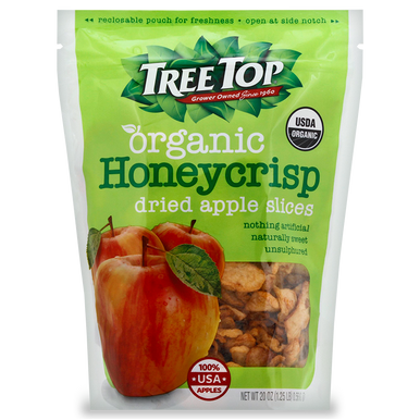 Treetop Organic Honeycrisp Dried Apple Slices