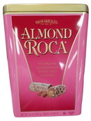 Brown & Haley Almond Roca Buttercrunch Toffee, 20 oz. Metal Tin Gift Box