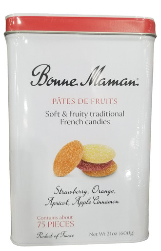Bonne Maman Pates De Fruits Fruit Gels, 21 oz. Tin