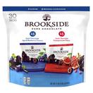Brookside Dark Chocolate Variety Pack, 30 Pack