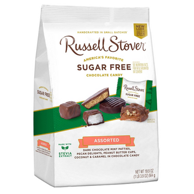 Russell Stover Assorted Sugar Free Chocolate Candies