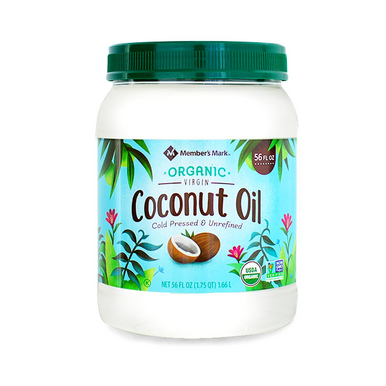 Member's Mark Organic Virgin Coconut Oil, 56 oz.