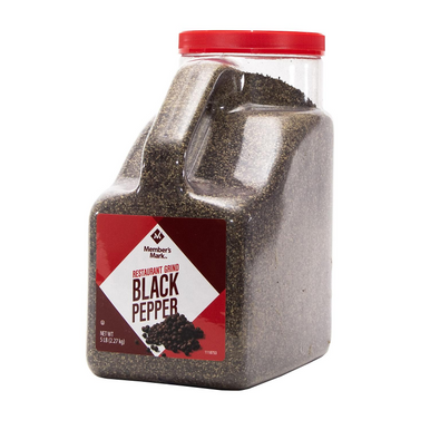 Member's Mark Black Pepper, 5 lbs.
