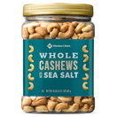 Member's Mark Roasted Whole Cashews with Sea Salt, 33 oz.