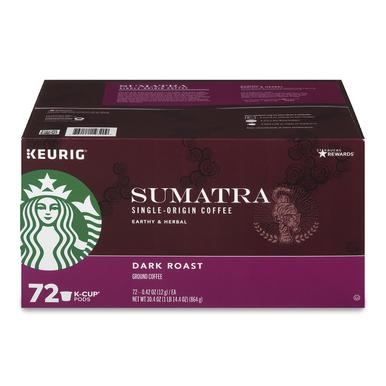 Starbucks Sumatra Coffee K-Cups (72 ct.)