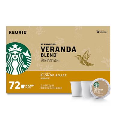 Starbucks Veranda Blend Coffee K-Cups (72 ct.)
