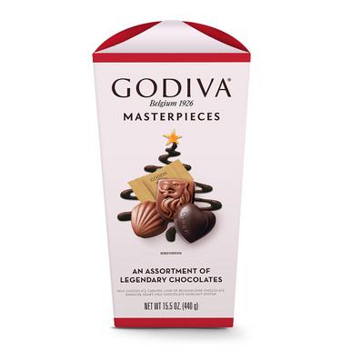 Godiva Masterpieces Individually Wrapped Assorted Chocolates, 15.5 oz.