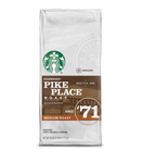 Starbucks Pike Place Ground Coffee Beans, 40 oz.
