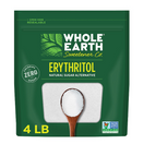 Whole Earth Erythritol Zero Calorie Sweetener, 4 lbs.