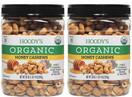 Hoody's Organic Honey Cashews, 30 oz. (2 Pack)