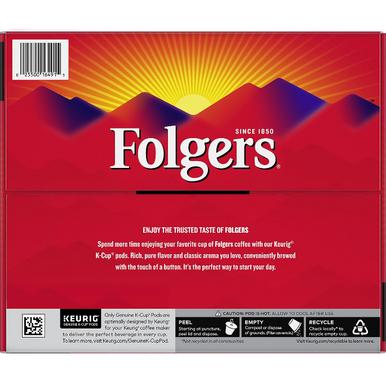 Folgers Classic Roast Coffee K-Cups