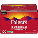 Folgers Classic Roast Coffee K-Cups, 100 ct.