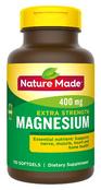 Nature Made Extra Strength Magnesium 400mg, 110 Softgels