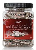 Tara's Gourmet Handcrafted Premium Thin Dark Chocolate Peppermint Bark, 11 oz.