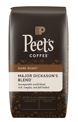 Copy a Product - Peet's Coffee Major Dickason's Blend Whole Bean Dark Roast, 32 oz.