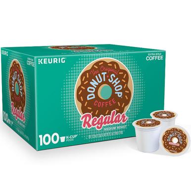 The Original Donut Shop Regular Coffee K-Cup Pods, 100 ct.