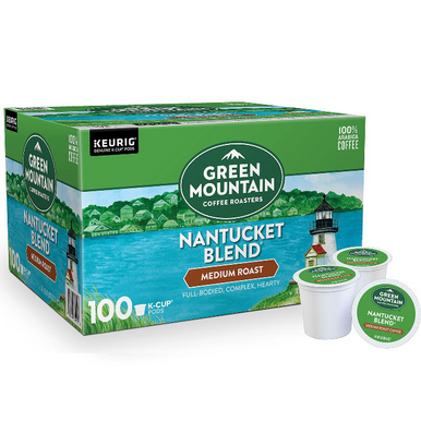 Green Mountain Coffee Nantucket Blend K-Cup Pods, 100 ct.