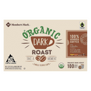 Member's Mark Organic Dark Roast Coffee Single Serve K-Cup Coffee Pods, 100 ct.