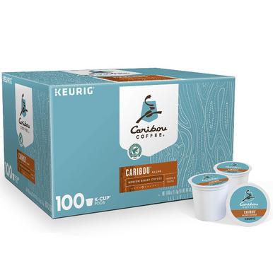 Caribou Coffee Caribou Blend Coffee Single Serve K-Cup Coffee Pods, 100 ct.