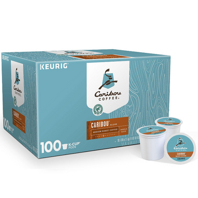 Caribou Coffee Caribou Blend Coffee Single Serve K-Cup Coffee Pods, 100 ct.