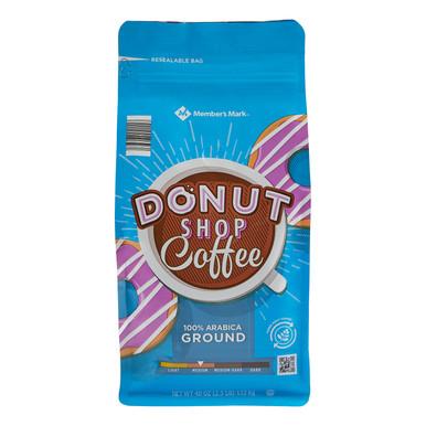 Member's Mark Donut Shop Ground Coffee, 40 oz.