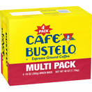 Cafe Bustelo Espresso Ground Coffee, 10 oz. (4 pack)