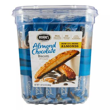 Nonni's Almond Chocolate Biscotti, 24 Ct.