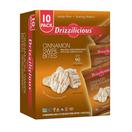 Drizzilicious Cinnamon Swirl Bites, (10 Pack, .74 oz.)
