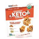 InnoFoods Organic Coconut Keto Clusters, 16 oz.