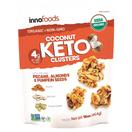 InnoFoods Organic Coconut Keto Clusters, 16 oz.