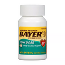Bayer Aspirin Regimen Low Dose 81 mg., 400 Enteric Coated Tablets
