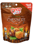 Oneg Organic Whole Chestnut Roasted and Peeled Chestnuts Kosher for Passover, 5.3 oz.