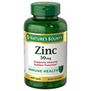 Nature's Bounty Zinc 50mg, 400 Caplets