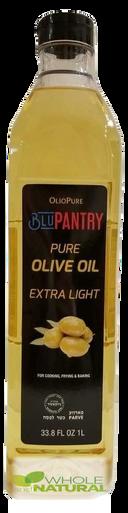 BluPantry Pure Olive Oil Extra Light Kosher for Passover, 33.8 fl oz