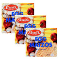 Streit's Egg Matzos Kosher for Passover, 12 oz. (3 Pack)