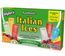 Wyler's Authentic Italian Ices Original Flavors 1.5oz pop 20 Count