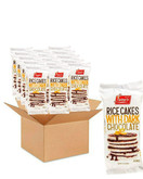 Lieber's Dark Chocolate Coated Rice Cakes, Kosher Certified, 3.1 Oz (Pack of 16, Total of 49.6oz)
