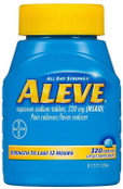 Aleve All day Strong Pain Reliever/Fever Reducer Naproxen Sodium Tablets , 220 Mg (NSAID) - 320 Caplets
