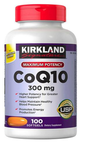 Kirkland Signature CoQ10 300 mg., 100 Softgels