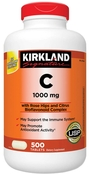 Kirkland Signature Vitamin C 1000 mg., 500 Tablets