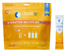 Liquid I.V. Hydration Multiplier Plus Immune Support, 24 Individual Serving Stick Packs in Resealable Pouch