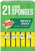 Scotch-Brite Heavy Duty Sponge, 21-count