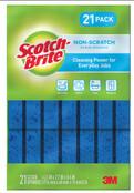 Scotch Brite Non-Scratch Sponge, 21 count