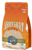 Lundberg Family Farms - Brown Short Grain Rice, Subtle Nutty Aroma, Clings When Cooked, 100% Whole Grain, High in Fiber, Vitamins & Minerals, Pantry Staple, Gluten-Free, Non-GMO, Vegan (32oz)