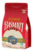 Lundberg Family Farms - California White Basmati Rice, Pleasant Aroma, Fluffy Texture, Won't Clump When Cooked, Pantry Staple, Non-Sticky, Gluten-Free, Non-GMO, Vegan, Kosher (32 oz)