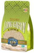 Lundberg Family Farms - Brown Long Grain Rice, Rich & Nutty, Firm Texture When Cooked, 100% Whole Grain, High in Fiber, Vitamins & Minerals, Pantry Staple, Gluten-Free, Non-GMO, Vegan (32 oz)